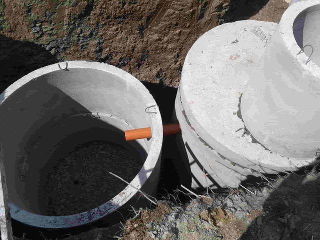 Как сделать герметично септик из колец