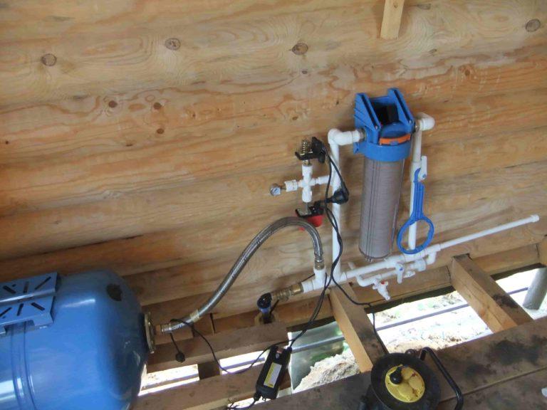 Водопровод в на даче своими руками