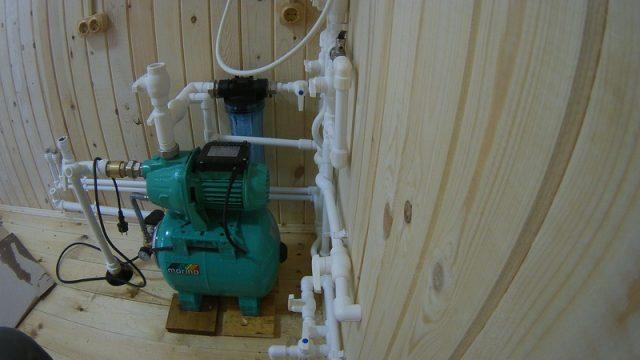 насосная станция для абиссинской скважины