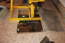 Бурение в подвале дома абиссинских скважин в Ногинске