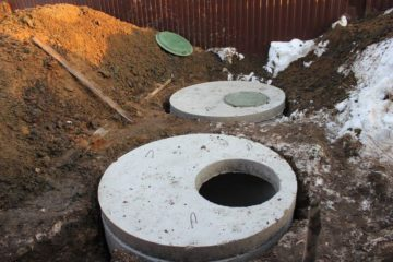 Цементно-бетонные септики
