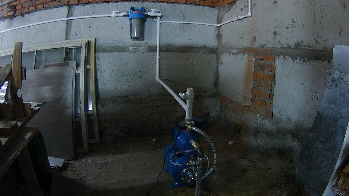 цена водопровода на даче