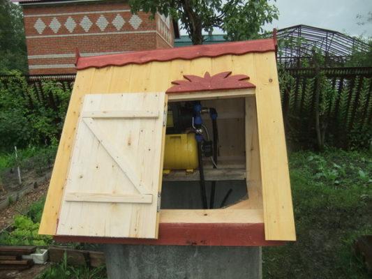 Водоснабжение с помощью колодца