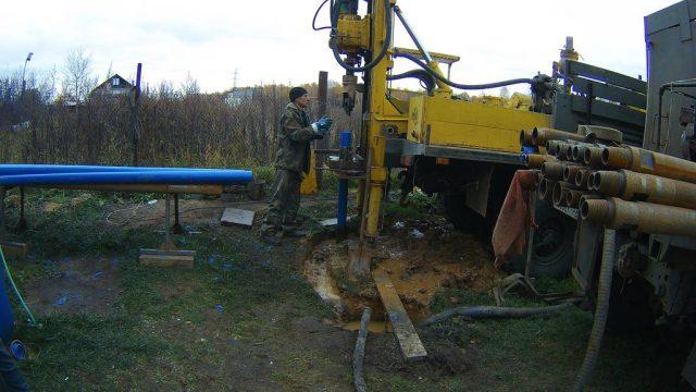 Бурение скважин на воду в Павловском Посаде