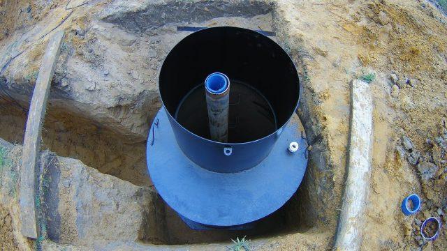 Металлический кессон. Обустройство скважины в Павловском Посаде