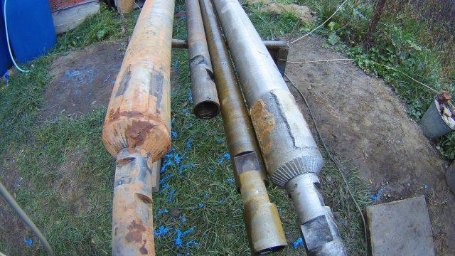 Буровые трубы для скважины