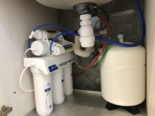 Установка фильтров для воды в Орехово-Зуево