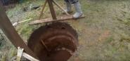 копаем шахту для жб колец