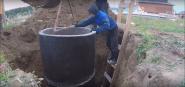 Септики бетонные из колец под ключ в Московской области