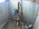 бурение скважины в цокольном этаже