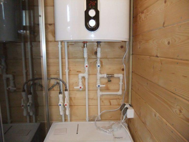 объвязка водонагревателя водопроводными трубами